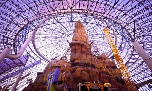 Adventuredome theme park at Circus Circus casino