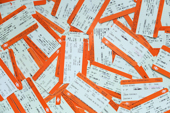 Travel Stock - Train Tickets