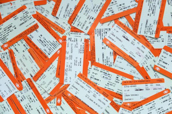 Travel Stock - Train Tickets