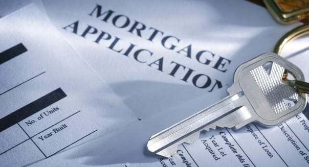 Home loan mortgage application housing market