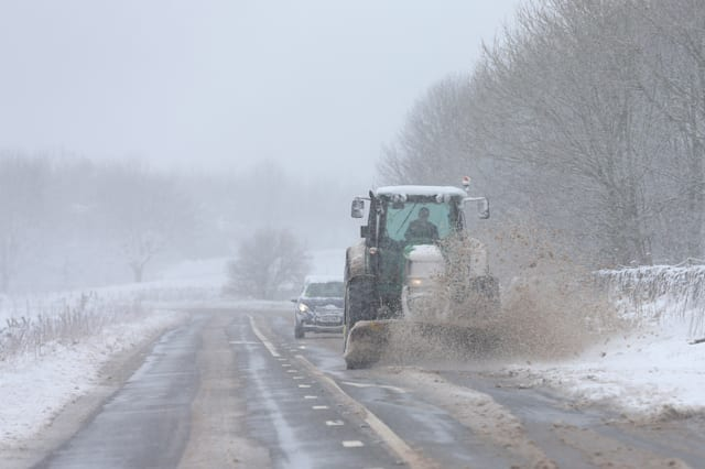Storm Jake brings Snow To The North Of England