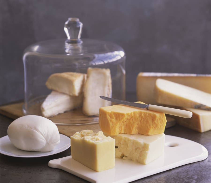 You want at least three cheeses on your board, but no more than