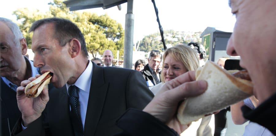 Tony Abbott digs