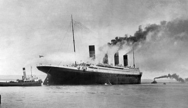 Disasters and Accidents - Sea - RMS Titanic - Southampton