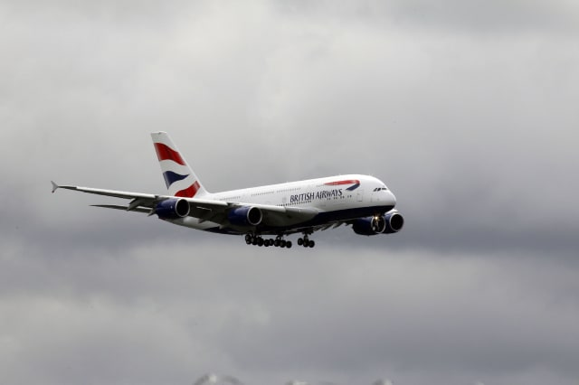 BA removes couple from plane after row over flight upgrade