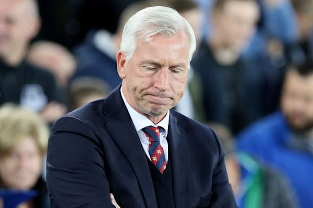 Alan Pardew leaves Crystal Palace