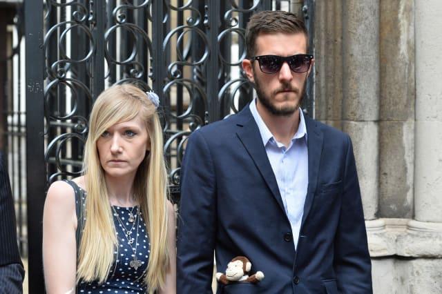 Charlie Gard court case - London