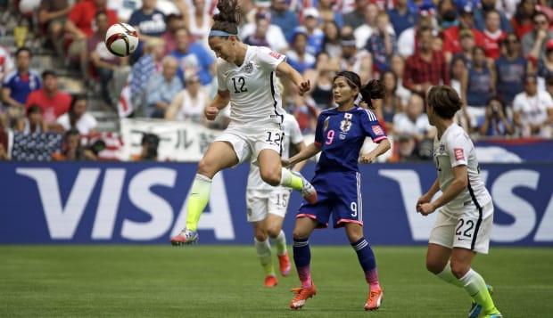 WWCup Japan US Soccer