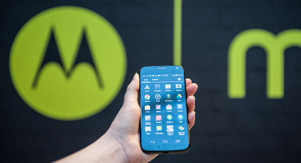 London, UK. 14th January 2014. Motorola unveils Moto X in Europe © Piero Cruciatti/Alamy Live News