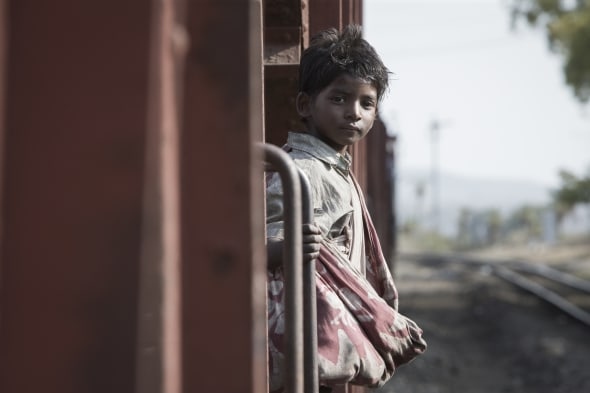 Sunny Pawar plays the young