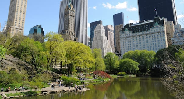 The Pond at Central Park, New York City