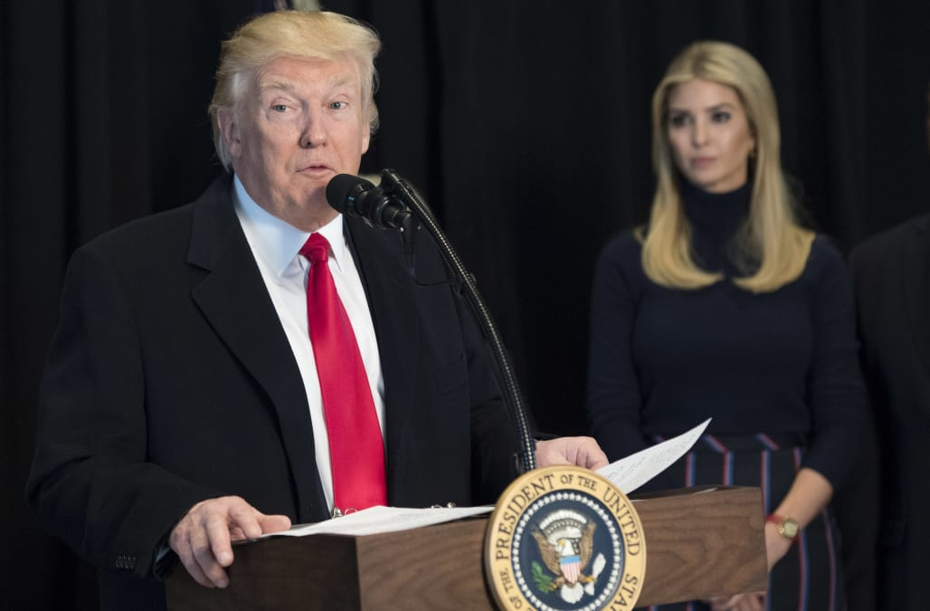 President Trump, Ivanka Trump tweet International Women's Day messages, face backlash