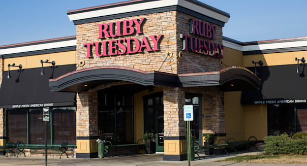 A Ruby Tuesday casual dining restaurant.
