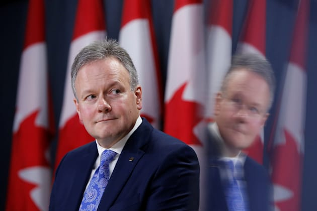 Bank of Canada Governor Stephen Poloz takes part in a news conference in Ottawa, January 18,
