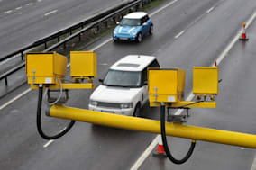 Speed cameras on the A12, in Essex....