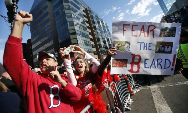 Red Sox Parade Baseball