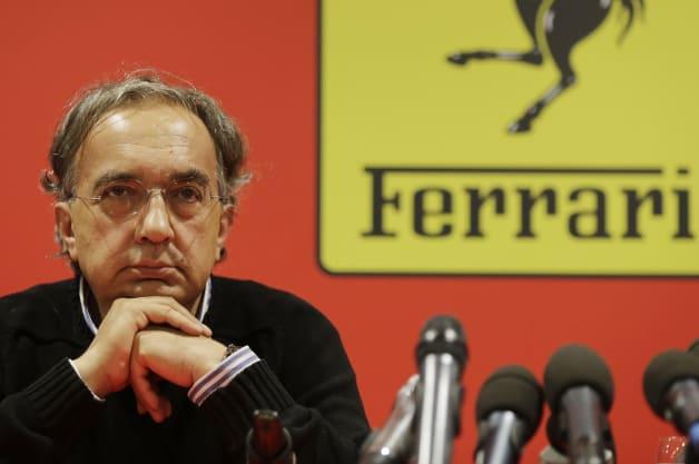 Italy Ferrari Montezemolo Out