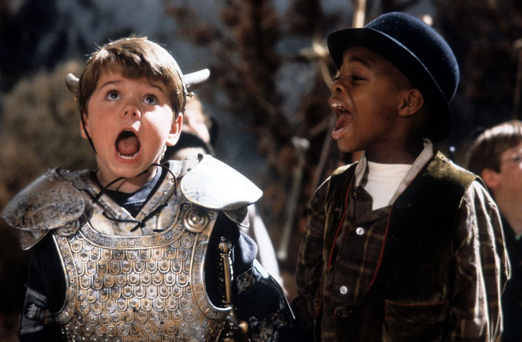 Travis Tedford And Kevin Jamal Woods In 'The Little Rascals'