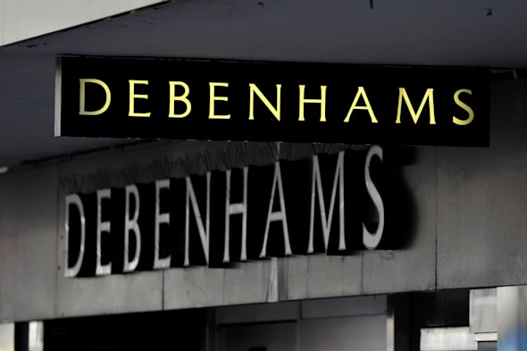 File photo dated 9/1/2013 of a Debenhams store in Swindon, Wiltshire, as Debenhams is to refocus its promotional strategy after a disastrous Christmas trading performance led to a sharp fall in half-year profits. PRESS ASSOCIATION Photo. Issue date: Tuesday April 15, 2014. The department store chain, which has 158 outlets in the UK, will also look to speed up delivery times in its online operation and said it is in discussions to introduce a number of