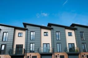 modern new housing   england