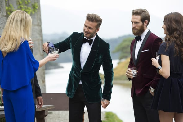 David Beckham bikes his way through the Scottish Highlands in new whisky ad