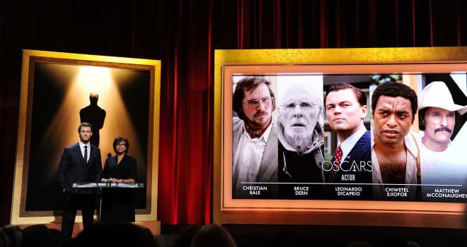 Oscars 2014 Best Actor Nominees