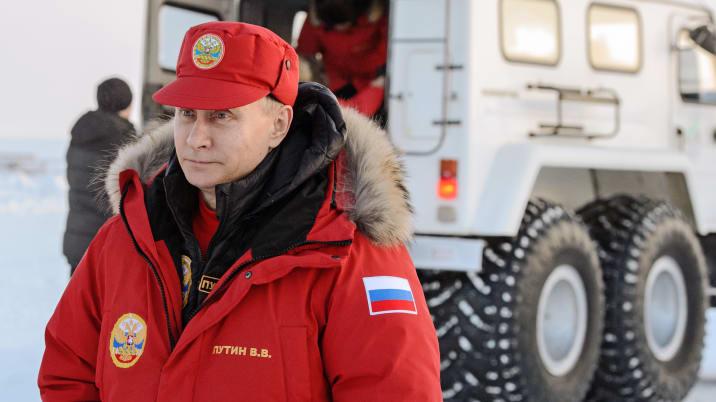 President Putin Visits Franz Josef Land.