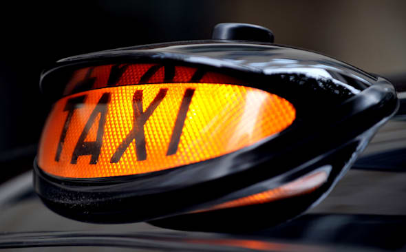 London taxi - stock