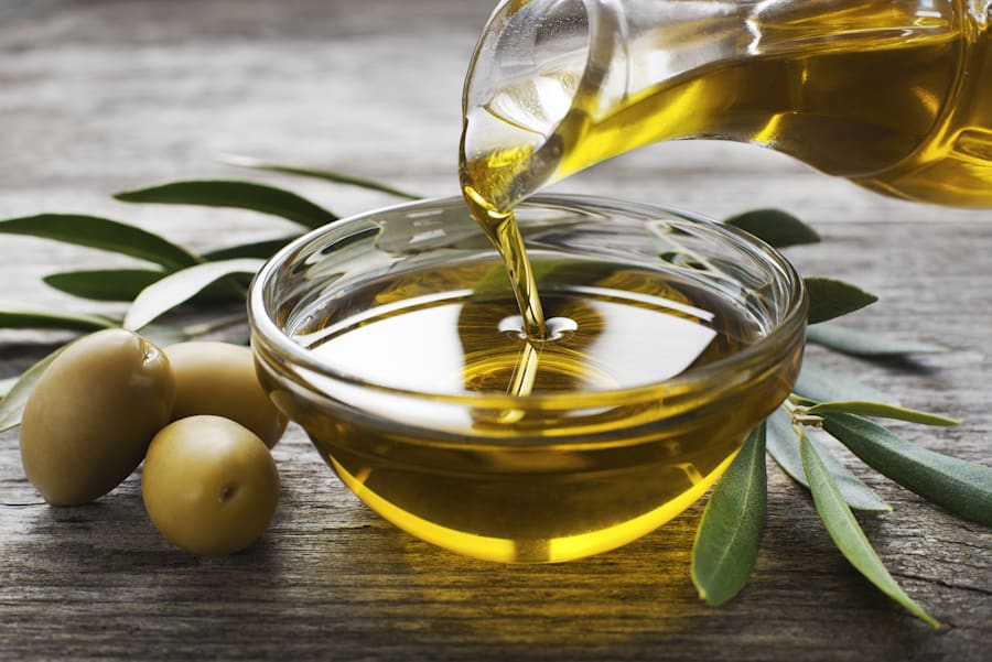 Extra virgin olive oil is a top
