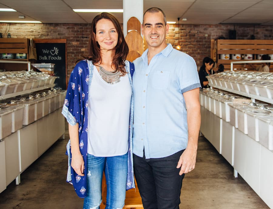 Emma Smith and Paul Medeiros are helping to lead the zero waste movement in Australia with The Source...