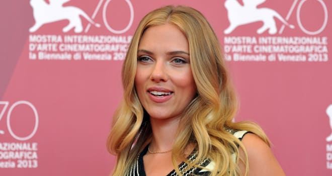 Scarlett Johansson at the 2013 Venice Film Festival