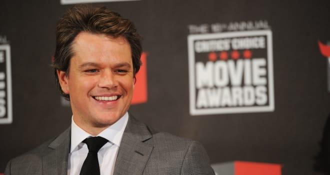Matt Damon at the 2011 Critics' Choice Movie Awards