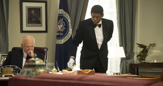 ROBIN WILLIAMS FOREST WHITAKER The butler