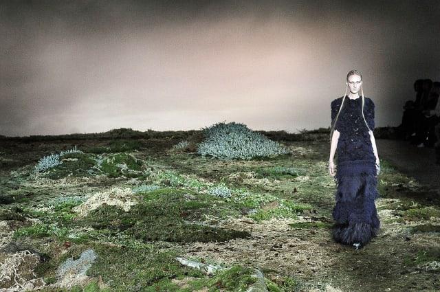 Alexander McQueen : Runway - Paris Fashion Week Womenswear Fall/Winter 2014-2015