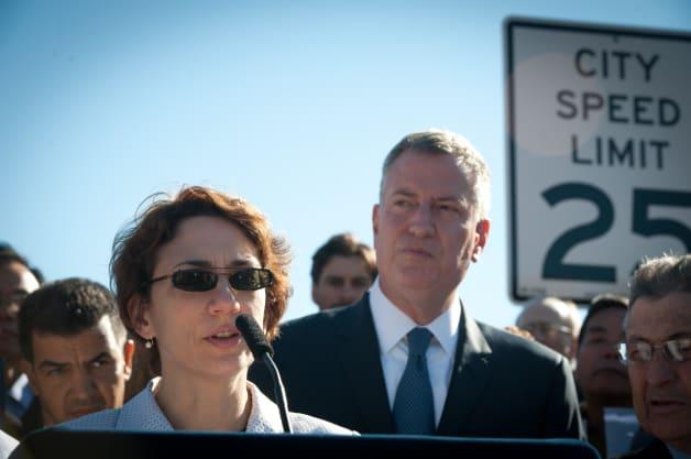 New York City 25 mph speed limit