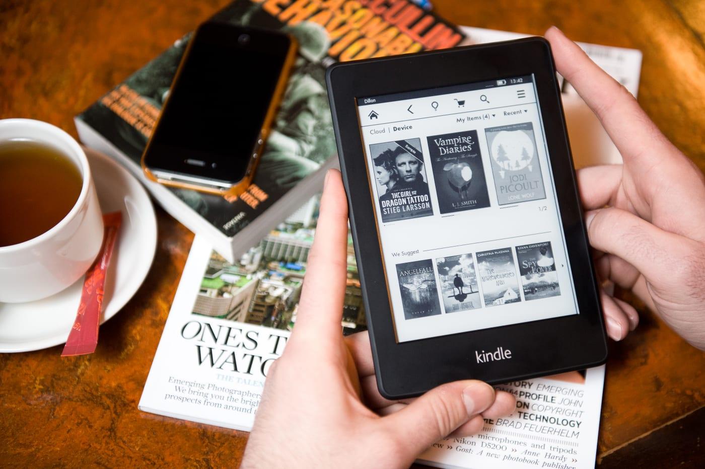 赶快为你的旧 Kindle 更新,否则就再不能联网使用啊