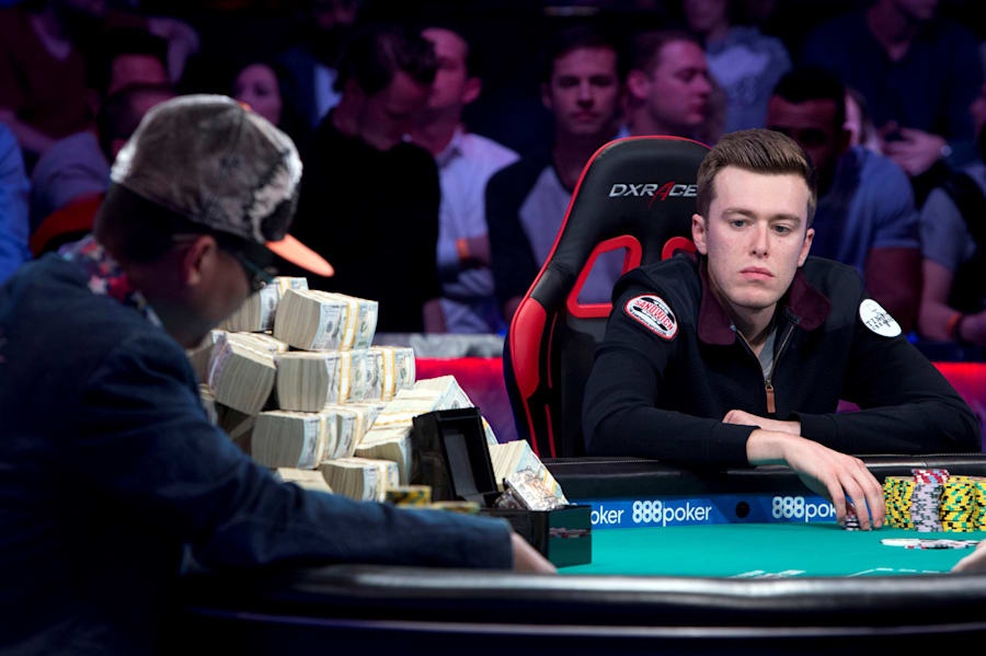 Vayo looks befuddled. Poker analysts say he was too passive during much of the final duel, which made...