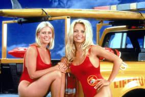 Nicole Eggert And Pamela Anderson Of 'Baywatch'