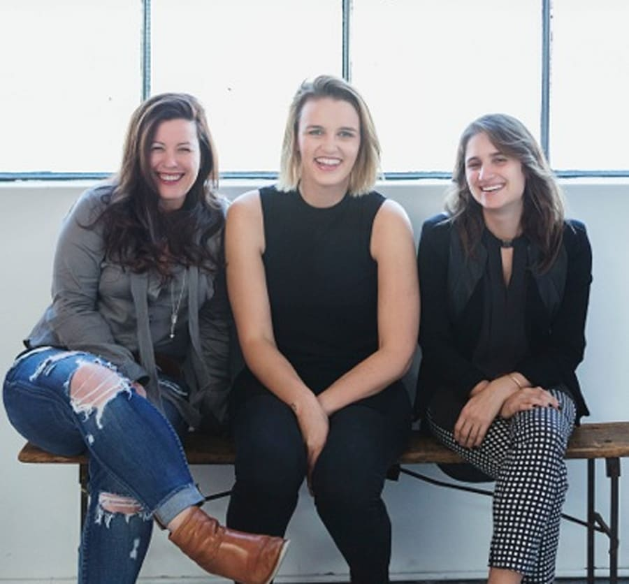 Penny Locaso, Kate Toholka and Sheree Rubenstein devised FBOMB, a YouTube series of videos featuring...