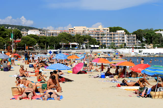 palma nova beach  majorca ...