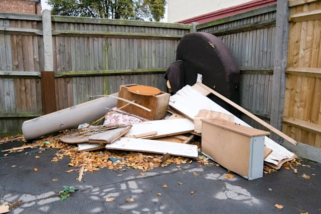 fly tipping flytipping rubbish dump dumping illegal unauthorized