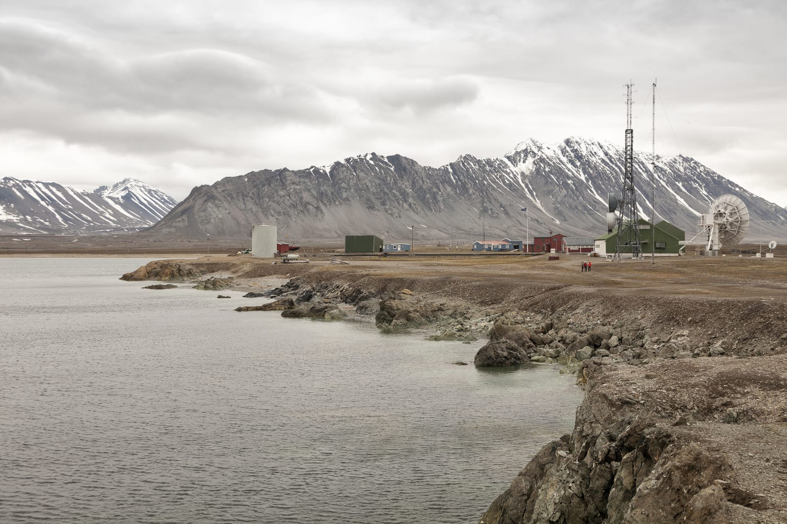 isfjord radio. svalbard. norway