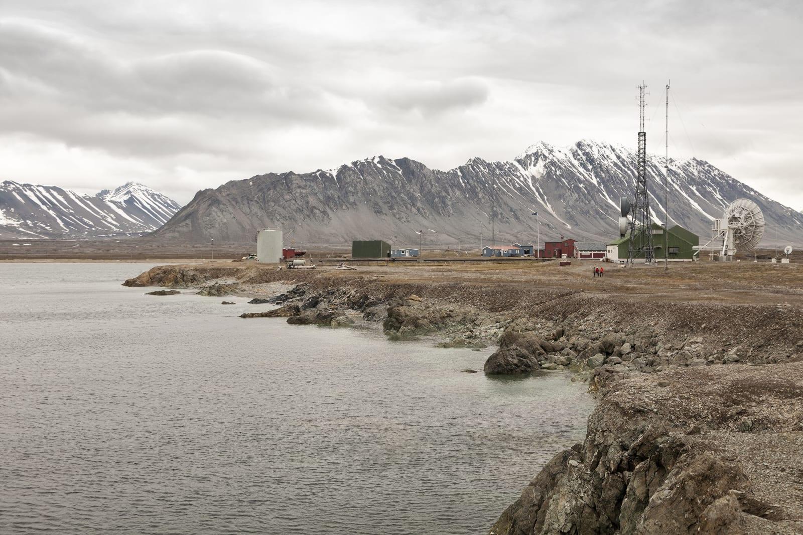 isfjord radio. svalbard. norway