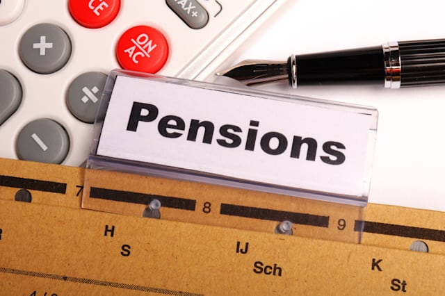 pension pension or retirement...