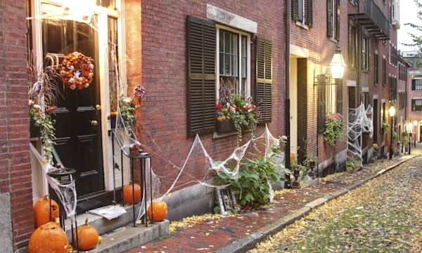 Halloween in Boston