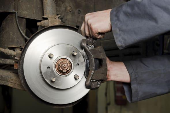 installation of new brakes