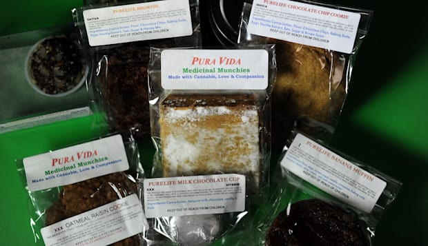 A sample of various baked goods made wit