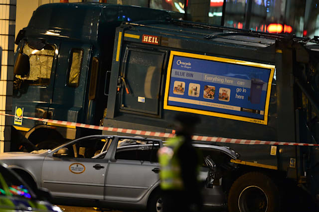 Bin Lorry Crashes Into Pedestrians Causing Fatalities And Casulaties