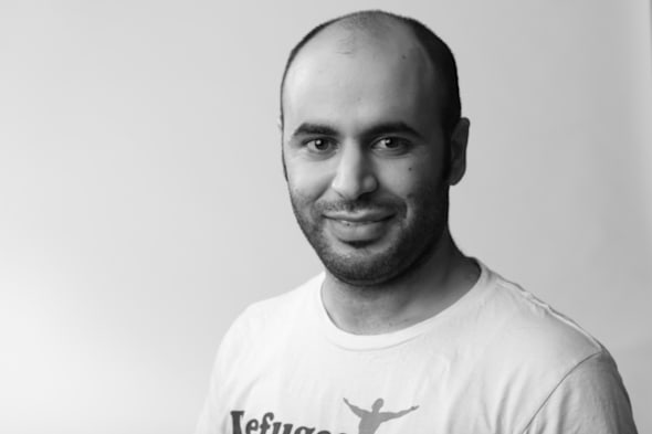 Niarary Dacho based the idea for Refugee Talent from his own experience as a refugee in