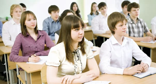 Group of students in the classroom
